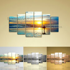 Large Landscape Hd Print Sunrise Wall Art Dining Room Hexaptych Panels Canvas