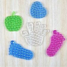 Silicone Double Sides Foot-shaped Sucker Bathroom Cupule
