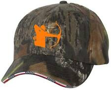 Bow Hunter Archer Camo American Flag Sandwich Bill Camoflauge Cap Hat