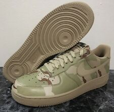 NIKE AIR FORCE 1 ONE LOW LV8 DESERT SAND CAMO 3M REFLECTIVE SUPREME 718152 204