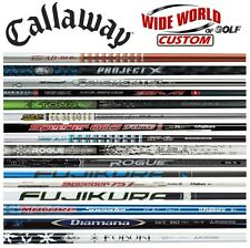 New 2017 Callaway Custom Driver Opti-Fit Shafts - Pick From 51 Models & Flexes