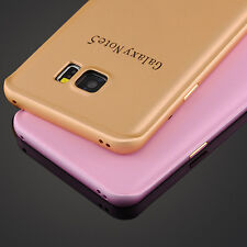 New For Samsung Galaxy S7 Luxury Aluminum Metal Bumper Frame +PC Back Case Cover