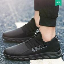 Fashion Mens Sneakers Sport Running Breathable Lace up Flats Casual Shoes