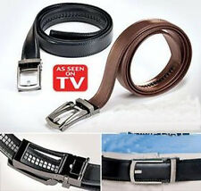 NEW Leather Belt for Men Black or Brown As Seen on TV FS