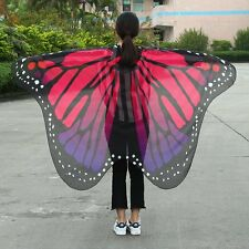 2017 Fashion Butterfly Wing Cape Scarf Women Christmas Gift Women Scarves F7