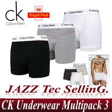 MENS CALVIN KLEIN CK BOXER SHORTS LOW RISE BRIEF 100% AUTHENTIC UNDERWEAR