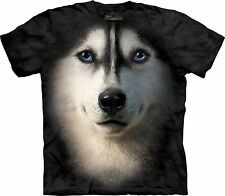 Siberian Face Dogs T Shirt Child Unisex The Mountain