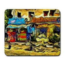 Two Shops In Old Luxor Egypt KPA Mouse Mat Pad Mousepad
