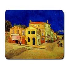 Vincent Van Gogh The Yellow House Painting Mouse Mat Pad Mousepad