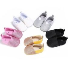 0-18M Baby Boy Girl Soft Sole Cotton Shoes Toddler Tassel Crib Moccasin Sneakers