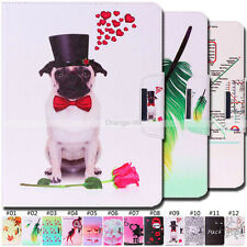Card Pouch Pattern Stand Painted PU Leather Case Skin Cover For Apple iPad 2/3/4
