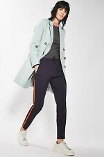 TOPSHOP *Pale Blue Double Breasted Coat* SIZE_UK6_8_10_12_14_16
