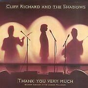 Cliff Richard & The Shadows - Thank You Very Much (Reunion Concert At The Lon...