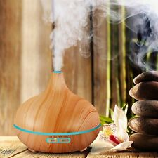 Air Humidifier Essential Oil Diffuser Aroma Lamp Aromatherapy Electric Aroma Dif