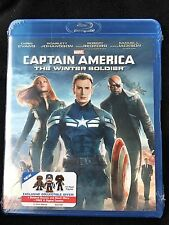 Captain America: The Winter Soldier (Blu-ray Disc) Brand New! Marvel!