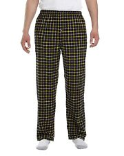 Robinson Apparel Lounge Pants Unisex Button-Fly Collegiate Flannel 9985 NEW