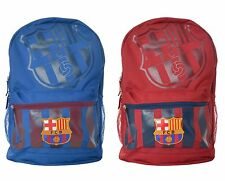 FC Barcelona Backpack Bag Soccer Team Bookbag Official Licensed Mochila Cinch