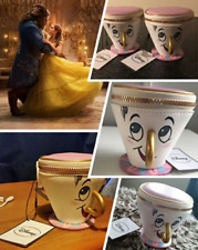 3D Cup Beauty And The Beast Teapot Coin Purse Bags Wallet Gift Trinket Handbag