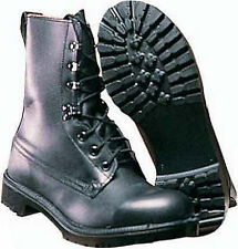 Army Assault Boots British Army Surplus Black Leather Military Combat boots