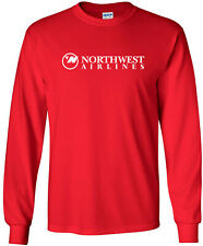 Northwest Airlines Retro Logo US Airline Long-Sleeve T-Shirt