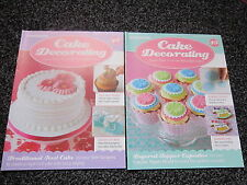 DeAgostini Cake Decorating Magazines Issues 46 to 69. Sets of 2 for £1.99