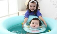 Baby Bath Neck Ring Infant Safety Inflatable Swimming Float Newborn Pool Circle