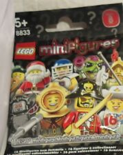 Lego minifigures series 8 new unopened factory seal (choose) DJ,Fairy,Santa etc