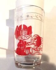 Vintage Kraft Cheese Swanky Swig Child's Juice Glass Elephant & Chicken