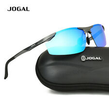 Mens Outdoor Sport Cycling Bike Wrap Around Goggles HD Polarized Sunglasses 8803