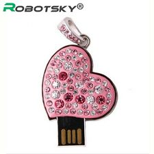 USB Flash Drive past Diamond Bling LOVE  USB 2.0 Flash Drive U Disk to 4 GB 8 GB