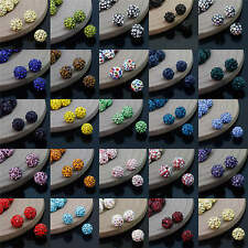 6-12MM Czech Crystal Rhinestones Round Ball Spacer Bead 20/40/100PC
