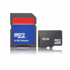 16GB 32GB Micro SD SDHC Class 4 TF Flash Memory Card Adapter Lot For Cell Phone