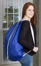 "Backpack Laundry Bag - Durable Nylon Material - Two Shoulder Straps - 22"" X 28"""