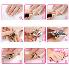 3D Black Lace Nail Art Templates Foil Stickers Flower Decals Tips Manicure Tool