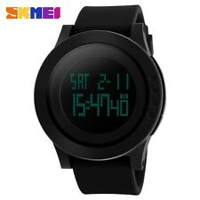2017 New Brand SKMEI Watch Men Military Sports Watches Fashion Silicone Waterpro