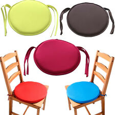 Patio Round Indoor Chair Cushion New Office Chair Seat Pad Tie On Dining Cushion