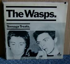 The Wasps - Teenage Treats - Original 4 Play Four 001 - Picture Sleeve - 7 Inch