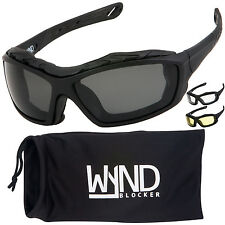 WYND Blocker Motorcycle Sunglasses Extreme Sports Boating Driving Glasses