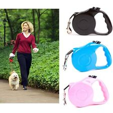 16.5FT 5Mtr High Quality Pet Training Dog Lead Tape Retractable Leash Extendable