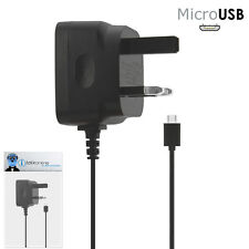 3 Pin 1000 mAh UK MicroUSB Mains Charger for LG GS290 Cookie Fresh