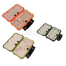 Double Sided Fly Fishing Tackle Box Lure Box 16/28 Adjustable Compartments