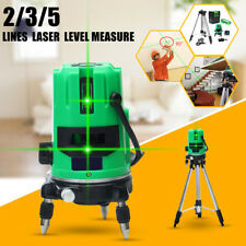 3-type 3D Green Automatic Self Leveling 360 Rotary Outdoor Laser Level Tripod