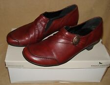 Size UK 6 EU 39 Ladies Leather Shoes Remonte Dorndorf Rot Red Milla