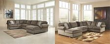 Contemporary Style Sectional Sofa Set Dune Finish Jessa Place Ashley Living Room