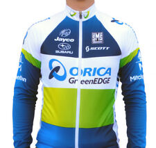 Santini AOO Team ORICA GREENEDGE 2013 Long Sleeve Cycling Jersey - Various Sizes