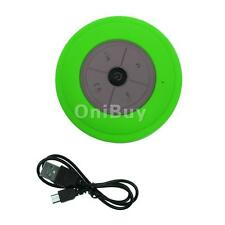 Portable Silicone Water Resistant Wireless Bluetooth Suction Shower Speaker