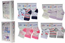 36 Pairs Baby Socks Newborn Infant Toddler Soft Cotton 0-6 m, Wholesale Job Lot