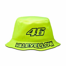 Valentino Rossi VR46 Moto GP Logo Bucket Hat Yellow Official 2017
