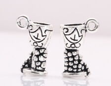 10/200Pcs Tibetan Silver DIY Holy Grail Cups Charms Crafts Bead Pendants 17*10mm