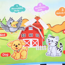 Cartoon Farm Baby PlayMat Gym Activity Blanket Toy Game Carpet Floor Piano Pad